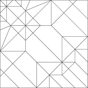 Crease Pattern / Common Raccoon
