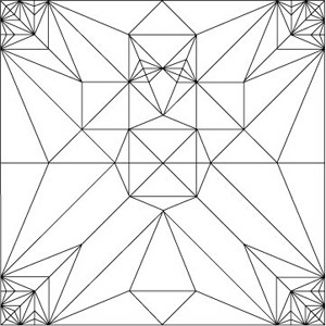 Frog/Crease Pattern