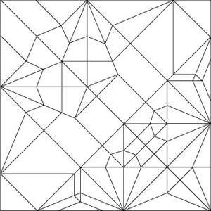 Crease Pattern / Papillon