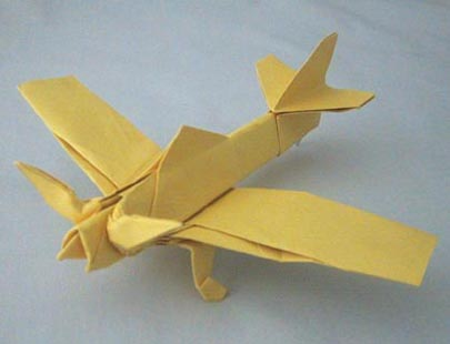 Home Origami Gallery Others Propeller Plane